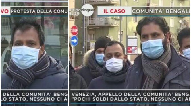 """Bengalesi minacciano l'Italia: """"Non ci basta sussidio di 500 euro, va triplicato o RUBIAMO"""" – VIDEO"""