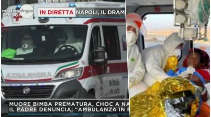 Bimba italiana muore dopo parto perché non arriva ambulanza: per clandestina incinta c'è l'elicottero