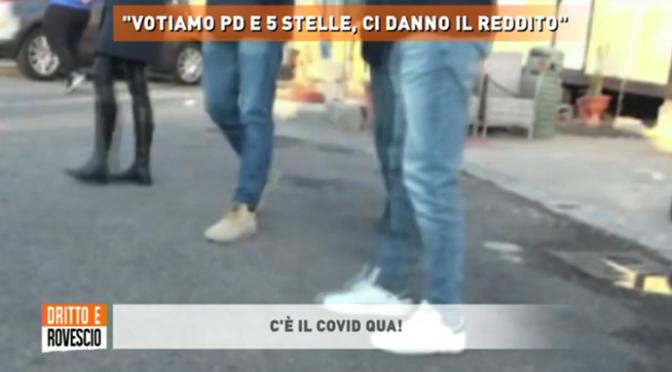 """Rom: """"VOTIAMO PD E M5S PERCHE' CI DANNO IL REDDITO DI CITTADINANZA"""" – VIDEO"""