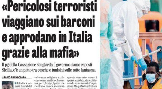 ESODO ISLAMICO VERSO L'ITALIA: 27 BARCONI, 1.232 INVASORI