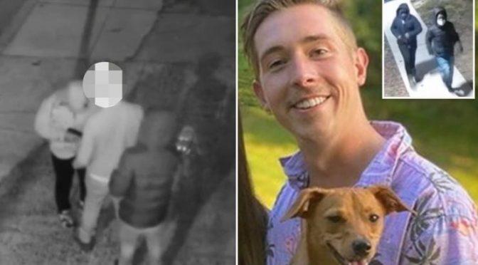 Ammazzato da due afroamericani mentre porta a spasso il cane nell'America di Biden