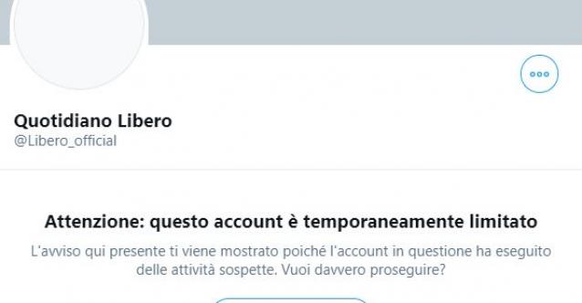 """Twitter 'limita' account Liberoquotidiano, Feltri: """"Non me ne frega un cazzo"""""""