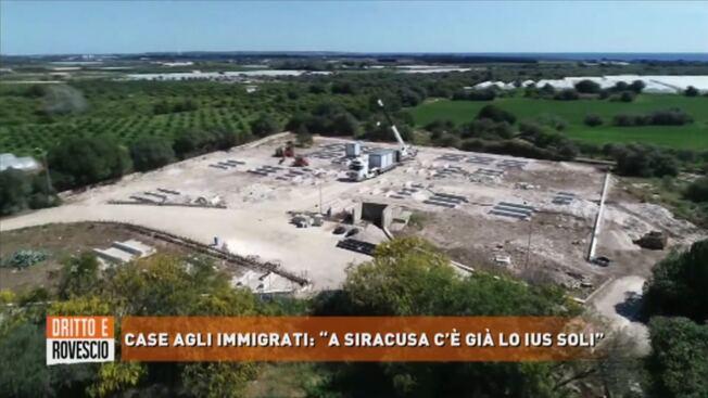 IL GOVERNO COSTRUISCE LE CASE AGLI IMMIGRATI – VIDEO CHOC