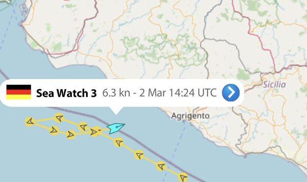 SEA WATCH ENTRA IN ACQUE ITALIANE CON 400 A BORDO: ITALIA PROSTITUITA ALLE ONG