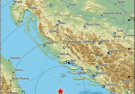 Terremoto in Adriatico: magnitudo 6.0