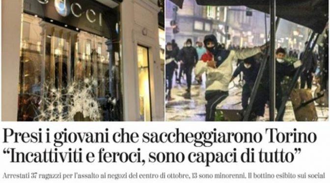 Piccoli immigrati armati a caccia di italiani a Milano