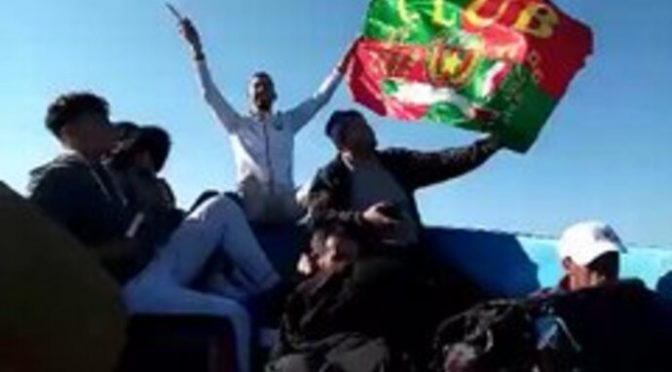 Sbarchi in zona bianca: barcone carico di algerini verso la Sardegna – VIDEO