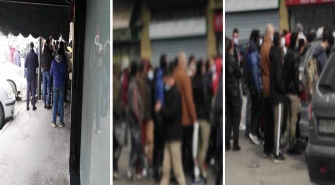 Milano zona rossa ma non per gli islamici: assembramento alla moschea abusiva – FOTO