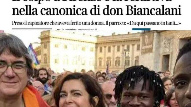 Don Biancalani intoccabile: i suoi ospiti spacciano, rubano e poi si nascondono in chiesa ma lui non paga