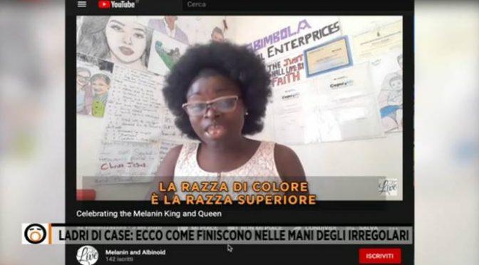 """Migrante: """"Voi italiani siete razza inferiore e presto sparirete"""""""
