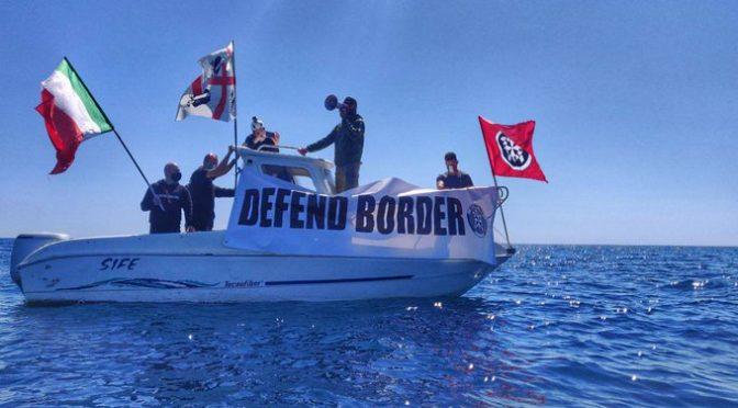 Protesta CasaPound contro gli sbarchi – VIDEO