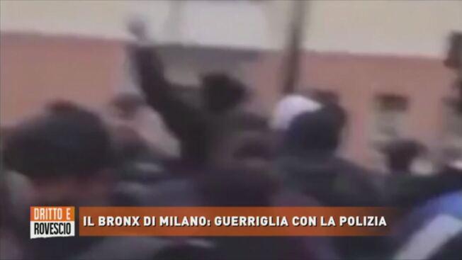 Guerriglia islamica a Milano: i figli degli immigrati cacciano gli italiani – VIDEO