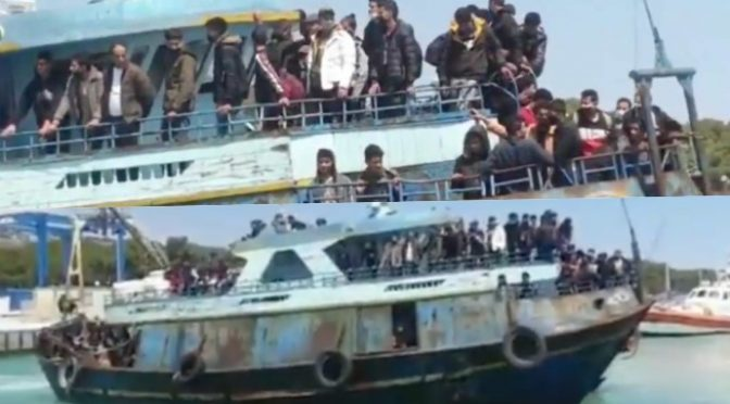 Peschereccio scarica decine di immigrati positivi: ecco come arrivano le varianti