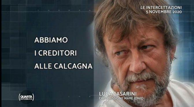 Porta clandestini in Italia per 1.500 euro a testa: arrestata, Casarini 4.500 ed è libero