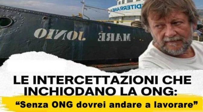 Lo stipendio del 'volontario' Casarini a bordo dell'ONG