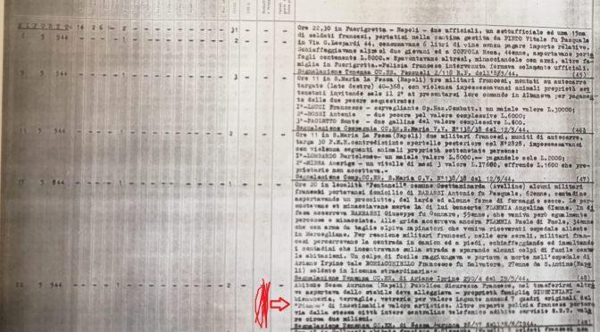 Rinvenuto documento: i soldati marocchini 'francesi' hanno razziato in Italia anche opere d'arte