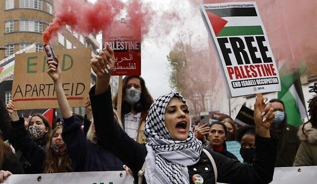 ISLAMICI IN RIVOLTA IN TUTTA EUROPA: MARCIANO PER ORDINARCI DI CACCIARE GLI EBREI DA ISRAELE – VIDEO