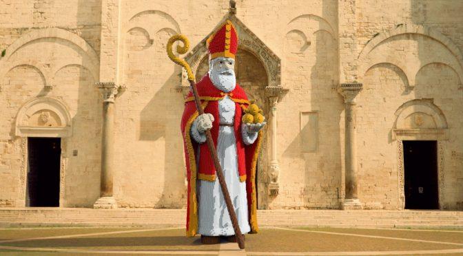 """PD vuole 'abbattere' la statua di San Nicola perché """"è troppo bianco"""""""