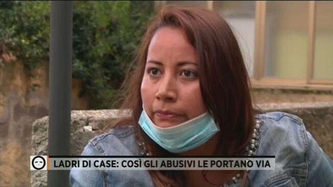 """Ruba la casa degli italiani: """"Tanto non me ne vado"""" – VIDEO"""