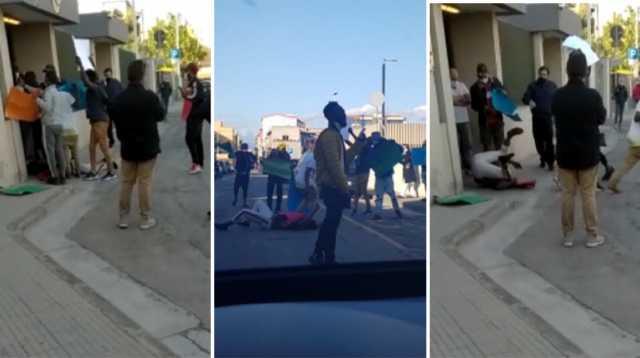 Esplode la violenza, nigeriani assaltano caserma Carabinieri – VIDEO