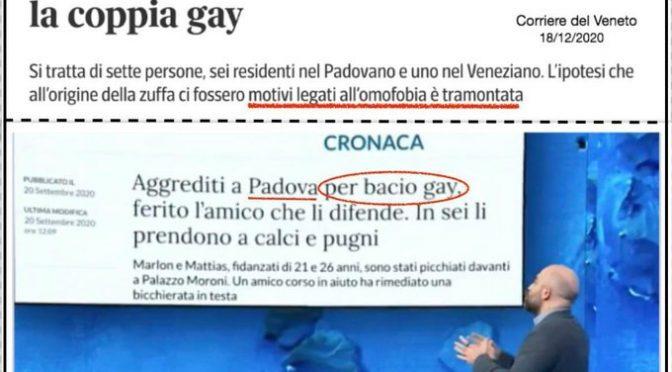 Saviano e Fazio diffondono falsa notizia su 'pestaggio omofobo'