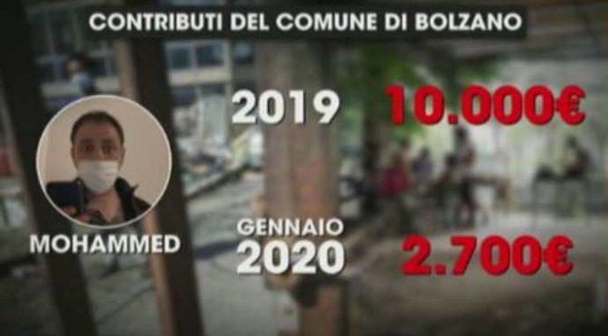 Il Pd caccia invalida italiana ma paga l'affitto a Mohammed: e lo riempie di sussidi – VIDEO