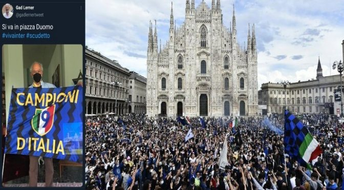 """Tifosi Inter al Duomo, il delirio del prefetto di Milano: """"Non puoi fermare il popolo dei tifosi"""""""