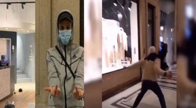 """Rapper islamico con 2.000 dosi hashish in casa, il giudice: """"E' scorta lockdown"""", ha guidato i saccheggi di Torino"""
