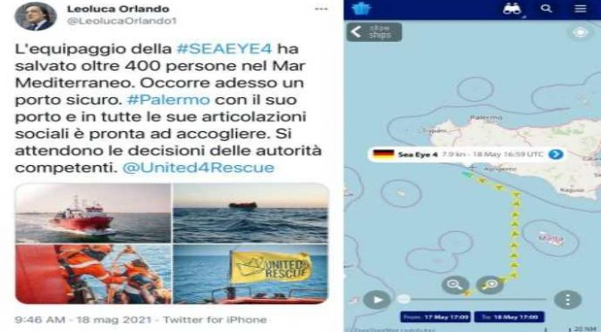 Orlando offre il 'porto' di Palermo ai trafficanti, cittadini in rivolta