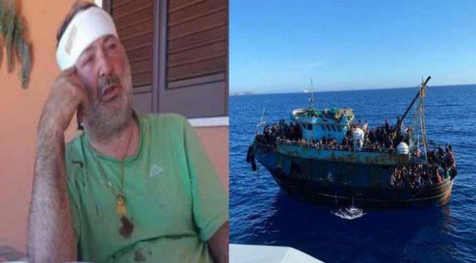 Erdogan attacca l'Italia: navi turche speronano peschereccio italiano