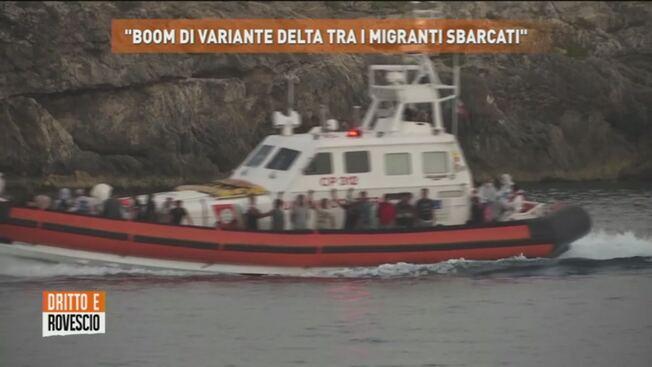 Dilaga la variante Delta tra i clandestini sbarcati in Sicilia