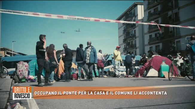 Africani tengono in ostaggio quartiere fino a che non ottengono case gratis – VIDEO
