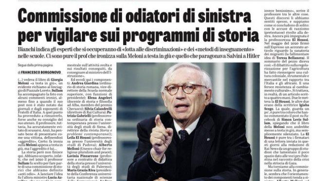 La sinistra che odia l'Italia riscrive la Storia