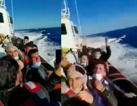 Finanza traghetta in Italia 37 maschi islamici