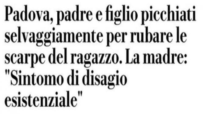 """BRANCO MAROCCHINI MASSACRA RAGAZZINO E IL PADRE CHE LO DIFENDE: """"Disagio esistenziale"""""""