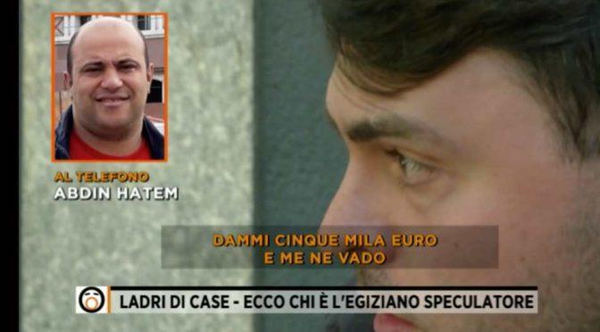"""""""No pago affitto"""", così gli immigrati rubano le case agli italiani – VIDEO"""