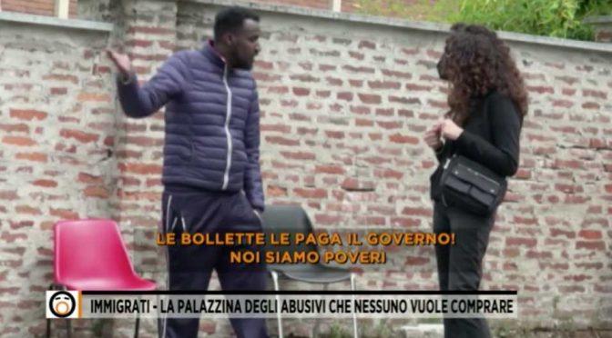 """Migranti: """"Le bollette ce le pagano gli italiani"""" – VIDEO"""