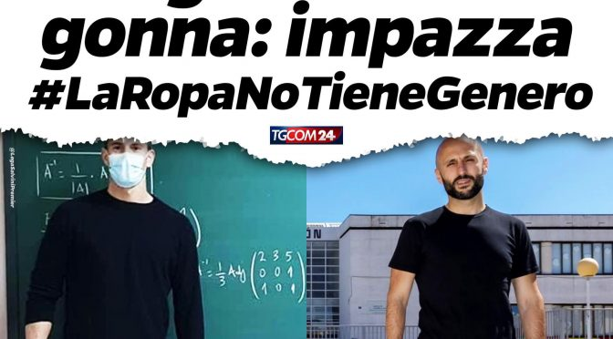 La decadenza: in Spagna prof 'maschi' con la gonna