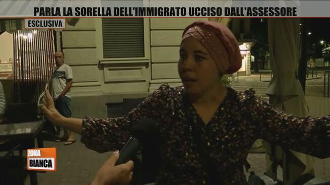 Voghera, corteo immigrati guidato dalla sorella dello spacciatore si prepara a saccheggiare la città