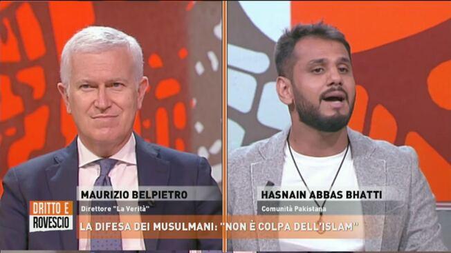 """Islamici vogliono zittire Belpietro e Cruciani: """"Non dovete parlare"""" – VIDEO"""