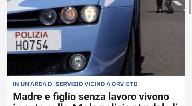 Case popolari agli immigrati: mamma e figlio italiani vivono in auto sulla A1