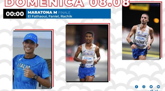 Maratona, l'Italia schierava 3 nordafricani: infatti hanno perso