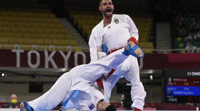 Tokyo 2020, Busà atterra un musulmano e vince l'oro nel karate