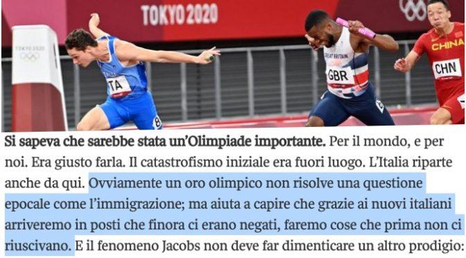 L'ideologia cuckold della sinistra: lasciare ingravidare donne italiane da africani per vincere più medaglie