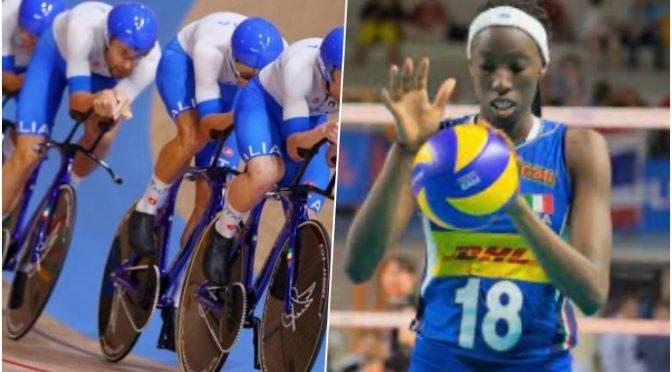 Olimpiadi: oro per 4 ragazzi italiani nel ciclismo mentre la Egonu va a casa