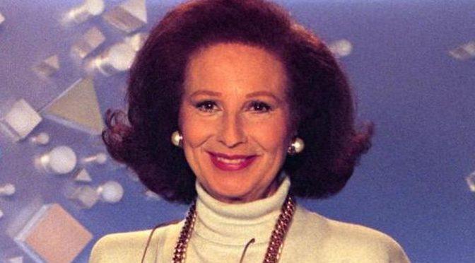 E' morta Nicoletta Orsomando, la 'signorina buonasera' aveva 92 anni
