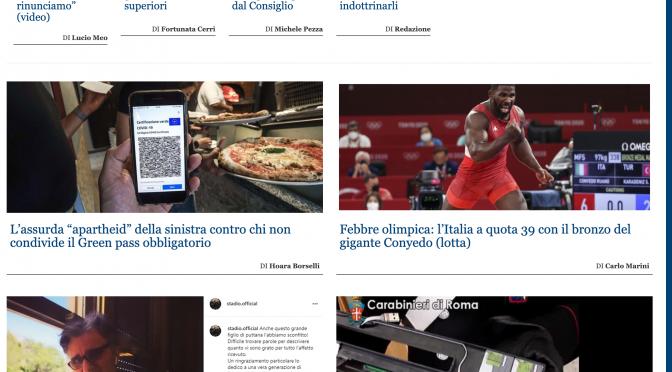 Il giornale della Meloni celebra la vittoria del cubano Coneyo naturalizzato da Lamorgese nel 2020