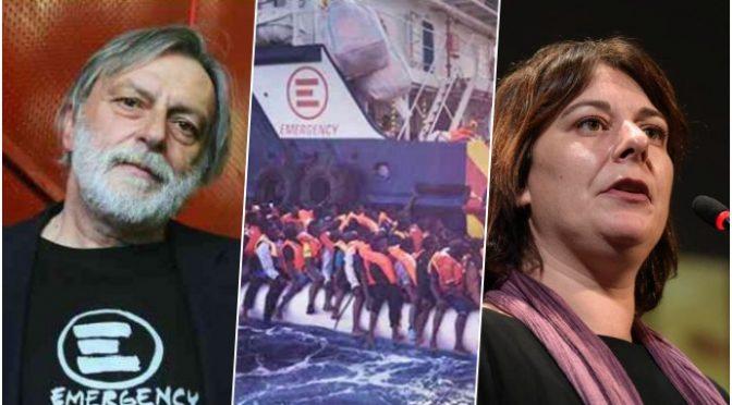 Trafficanti con 400 clandestini al largo della Sicilia, Cecilia Strada: devono sbarcare in Italia