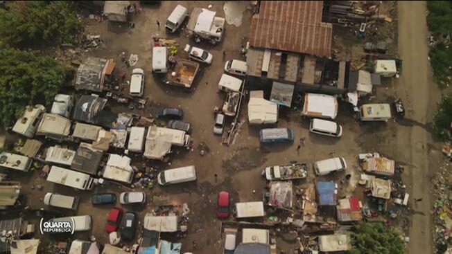 Campo nomadi è zona rossa: così i rom diffondono il contagio – VIDEO