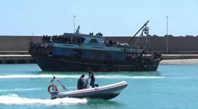 Agrigento: 300 clandestini infetti mandano la Sicilia in zona gialla